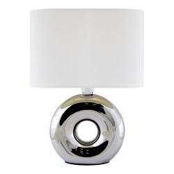Lampka nocna GOLF chrome/white 03544 E14 Struhm
