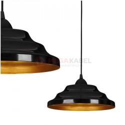 Lampa ONDA I zwis 6428 Black-Gold Nowodvorski