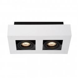 Lampa plafon CASEMIRO IT8001S2-WH/BK GU10 Italux