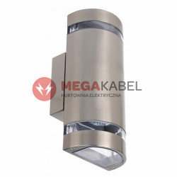 Lampa kinkiet ogrodowy HL249 2x35W inox GU10 Horoz
