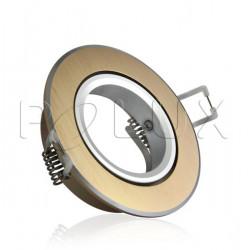 Oprawka sufitowa RODA ruchu aluminiowa złota LL3180 POLUX