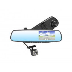 Rejestrator z kamerą cofania MobiMirror FHD Tracer