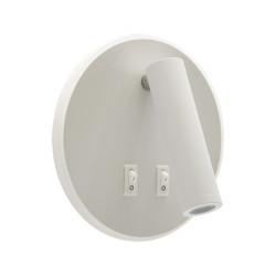 Lampa kinkiet OTELLO LED C 6W+3W biała STRUHM