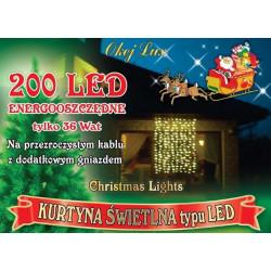 Kurtyna świetlna L-200/G/K ciepła wewnętrzna 2x1,5m OKEJ LUX