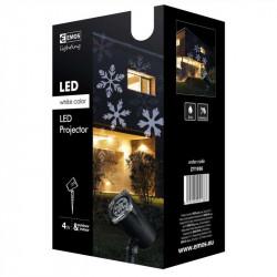 Projektor świąteczny LED XMAS 4W 2x2m IP44 biały ZY1936 EMOS