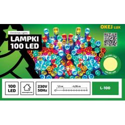Lampki choinkowe łańcuch LED L-100/X b.ciepły