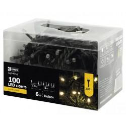 Lampki choinkowe świetlik XMAS ciepły 100LED 5m ZYK0105 IP20 EMOS