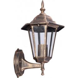 Lampa ogrod. kinkiet K-5009A UP czar/złot E27 Kaja