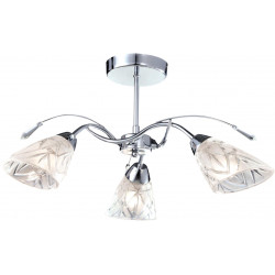 Lampa K-JSL-72018/3C CHR zwis 3xE14 60W Kaja