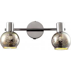 Lampa kula 3D K-8003-2G CHR 2xE14 60W Kaja