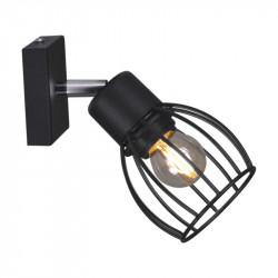 Lampa kinkiet plafon K-4564 I czarny STR kubek Kaja