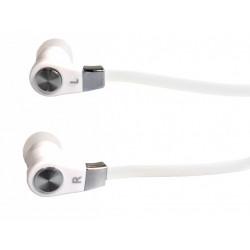 Słuchawki douszne z mikrofonem DS2 białe Media-Tech