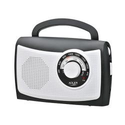 Radio Adler AD1155 czarne białe 230V 4xR14