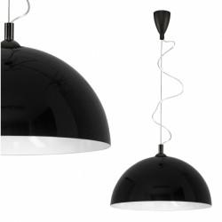 Lampa HEMISPHERE BLACK-WHITE S 4838