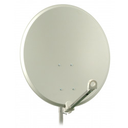 Antena sat czasza 80cm stal biała FAMAV SP30 A9653