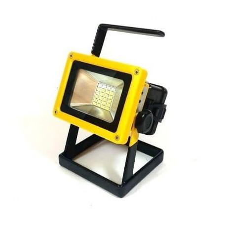 Przenośny naświetlacz LED 30W CW IP65 AZARIS