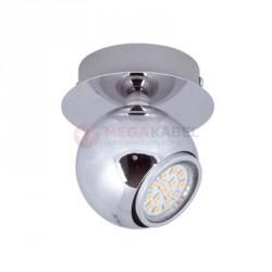 Oprawa dekoracyjna K-JZ-DAFNE 1 CHR LED GU10 1x3W