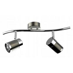 Lampa ścienno-sufitowa OLAF-2 GU10 LED 2x4W Struhm