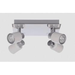 Lampa sufitowa MARTIN-4R W/CH biały chrom 4xGU10 Vitalux