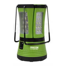Latarka kempingowa LED 1+2 10W 3,7V TRACON
