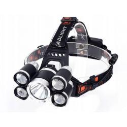 Latarka czołowa LED ZOOM CREE XM-L T6 AZARIS