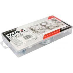 Obejmy skręcane mix rozmiarów 26 częsci YT-06782 Yato