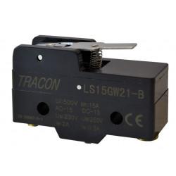 Wyłącznik krańcowy z dźwignią spręż. LS15GW21-B TRACON