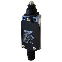 Wyłącznik krańcowyz trzpieńiem i zderzakiem 2xCO 5A LSME8111 TRACON
