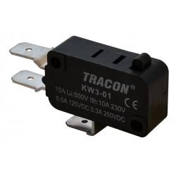 Wyłącznik krańcowy mikro 10(3)A/230V KW3-01 TRACON