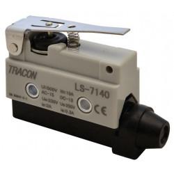 Wyłącznik krańcowy z dżwignią sprężynowa 10A 46mm LS7140 TRACON