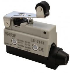 Wyłacznik krańcowy z dźwignią sprężynową i rolką LS7141 TRACON