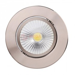 Spot oprawa HL698LE LED 3W Mat Chrome 2700K Horoz