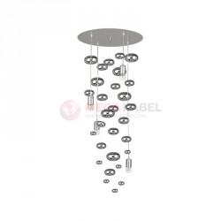 Lampa sufitowa SALVA H 6846 E27 4x60W Nowodvorski