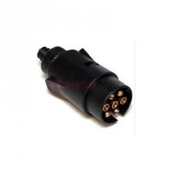 Wtyk przyczepy plastikowy 12/24V 7-pinów CB-80093