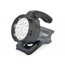 Latarka LED z akum. L-9018 230VAC/12DC 18LED Mactronic