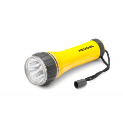 Latarka LED na baterie 2xR14 NEMO-5L 5xLED Mactronic