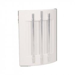 Dzwonek przewodowy dwutonowy Luppo 230V 023/BI biały V-T