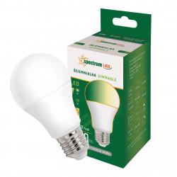 Żarówka LED ściemniacz E27 12W NW 230V GLS Spectrum