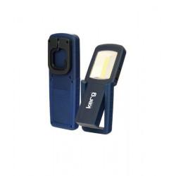 Latarka LED COB 3W 4 LED magnes KERG KG-8973 KREG
