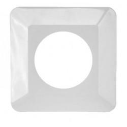 Osłonka ściany pojedyńcza biała 090/W OSX-910 Zamel