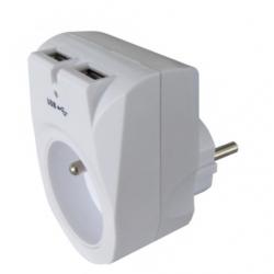Ładowarka sieciowa USB 5VDC + GN OR-GU-407 Orno