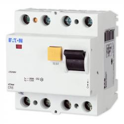 Wyłącznik róznicowoprądowy 4P 25/0,03A CFI6 AC 25A EATON