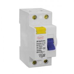 Wyłącznik róznicowoprądowy DLF 2P 25A 30mA ZEXT