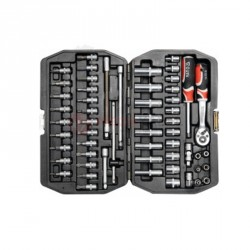 Zestaw narzędziowy 1/4cal 4-13mm (kpl56cz) YT-1450