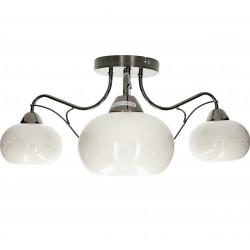 Lampa sufitowa ZAFIRA-3 perła/black 3xE27 Vitalux