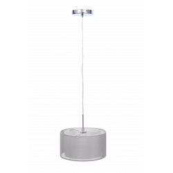 Lampa EBRO-1 silver zwis I E27 2x40W Vitalux