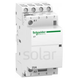 Stycznik modułowy 25A 4z/or 230V AC iCT Schneider
