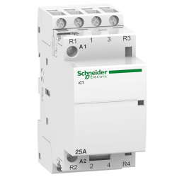 Stycznik modułowy 25A 2z/2r 230V AC iCT Schneider