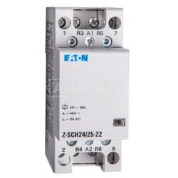 Stycznik modułowy 25A 2Z/2R 24V Z-SCH24/25-22 Eaton