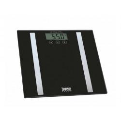 Waga łazienkowa z analizą składu ciała TSA0802 black Teesa